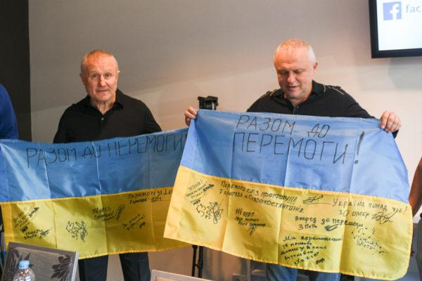 ФК «Динамо» пригласил раненых бойцов АТО на матч с «Александрией»