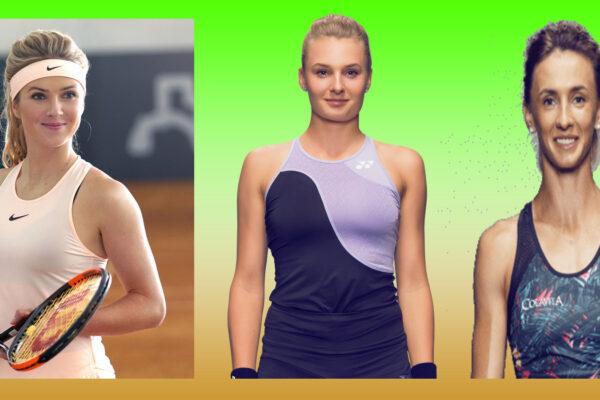 Лучшие Украинские теннисисты. Свитолина, Цуренко, Ястремская