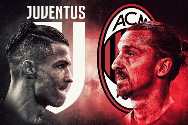 Где смотреть онлайн Милан Ювентус