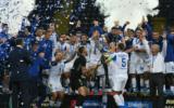 Динамо празднует победу в кубке Украины
